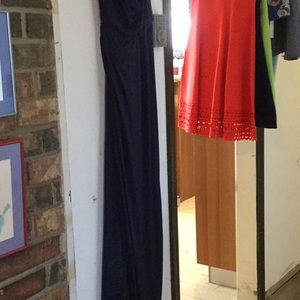 Melinda Eng Dresses - Navy blue evening gown. New with tags.